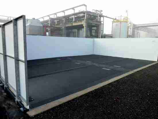 Industrial Wash Bays